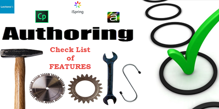 eLearning Authoring Tools - Features