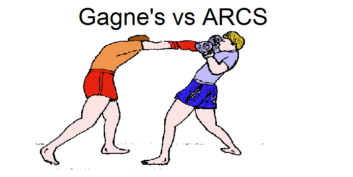The Comparative Degree Gagne S Nine Events Vs Arcs Knowzies